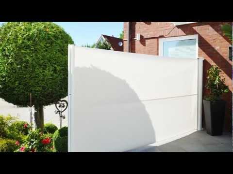 Ausziehbare Seitenmarkise / Sichtschutz - Exclusiv-Home