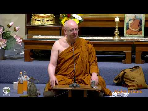 Stress - Overreaction to Life   Ajahn Brahm   9 March 2018