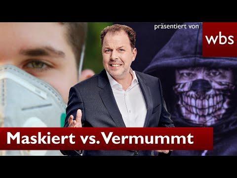 Maskenpflicht vs. Vermummungsverbot - das müsst ihr jetzt wissen