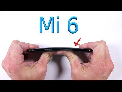 Xiaomi Mi6 Bend Test - Scratch Test - Durability Video