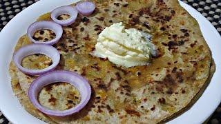 ಬಿಸಿ ಬಿಸಿ..! ಆನಿಯನ್ ಪರೋಟ   onion parata Rani swayam kalike