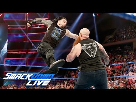 Roman Reigns and Erick Rowan confrontation turns into wild brawl: SmackDown LIVE, Sept. 10, 2019