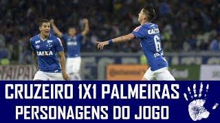 Não foi um jogo brilhante, mas o Cruzeiro conseguiu bem controlar o Palmeiras e mostrou poder de reação para marcar o gol já...