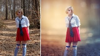 Photoshop CC Tutorial - Fantasy Looks Photo Effect Editing
