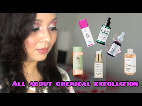 Chemical Exfoliation Basics   How to get Glowing skin  AHA and BHA   Skincare series : Episode 1