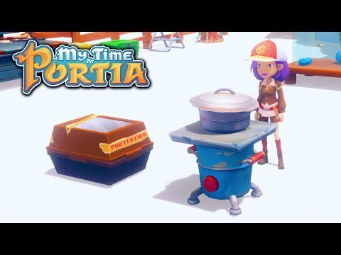 Awesome Cooking Tutorial! - My Time At Portia (Alpha 4.0) – Part 102