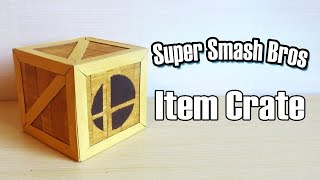 My attempt of building a Super Smash Bros Crate!