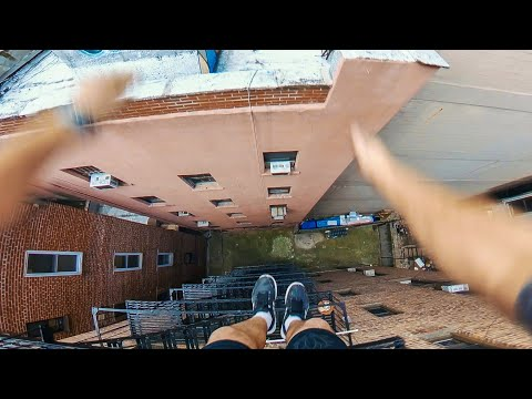 New York Rooftop Parkour POV 🇺🇸