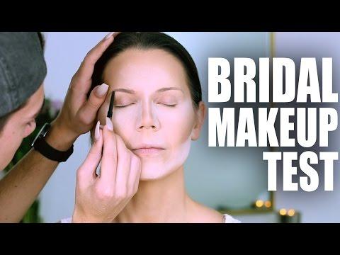 MY WEDDING MAKEUP | Tati and James Wedding