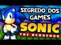 Segredo Dos Games: Sonic The Hedgehog mega Drive Ao Seg
