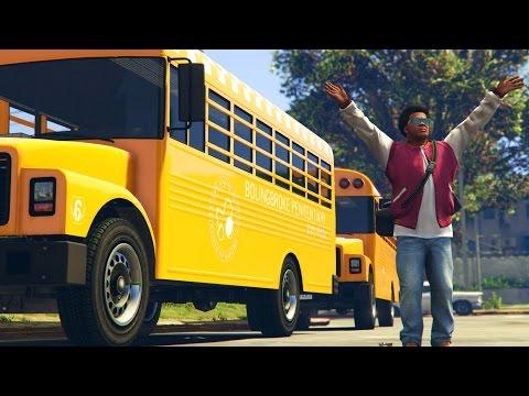 GTA 5 Mods - BACK TO SCHOOL MOD! (GTA 5 PC Mods) (видео)