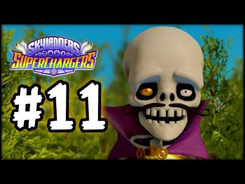 Skylanders SuperChargers - Gameplay Walkthrough - Part 11 - Money Bones!