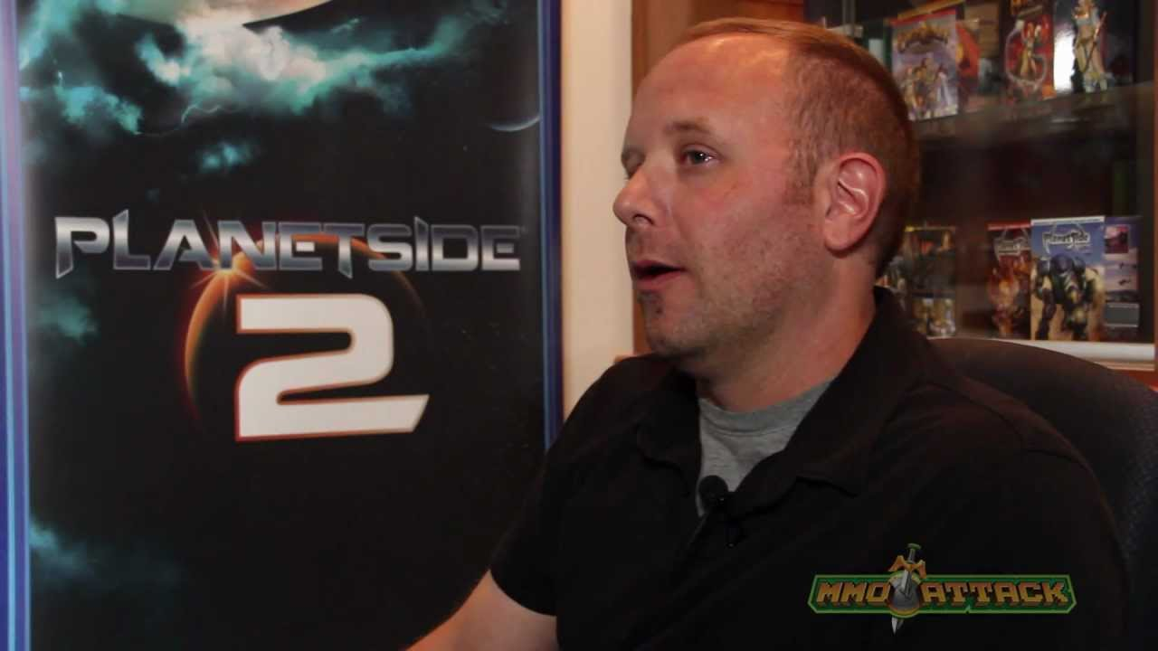 PlanetSide 2 Developer Interview | Eric K