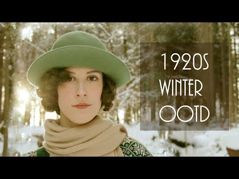 1920s Winter Hiking OOTD