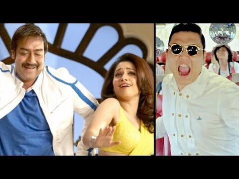 REVEALED: Ajay Devgn, Tamannaah Do 'Gangnam Style' In 'Himmatwala'!