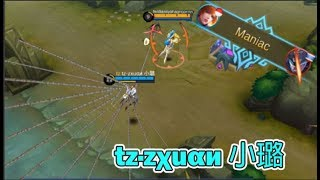 Download Video RANK 1 FANNY - tz·zχuαи 小璐 | 1 HP TOWER DIVE | INSANE MANIAC QUADRAKILL (Mobile Legends) MP3 3GP MP4