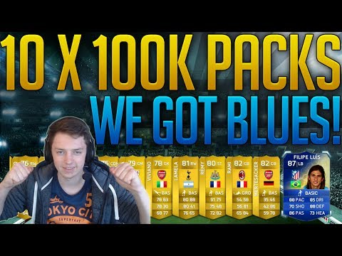 10 X 100k PACKS - WE GET BLUES! TOTS' IN A PACK LIVE REACTIONS W/ FACECAM - FIFA 14 UT - EASFC