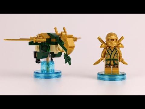 Vidéo LEGO Dimensions 71239 : Pack Héros : Gold Ninja