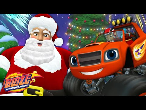 Monster Machine Christmas Extravaganza! | Blaze and the Monster Machines