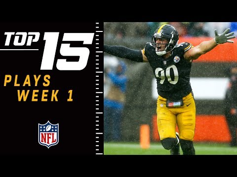 Top 15 Plays of Week 1 | NFL 2018 Highlights