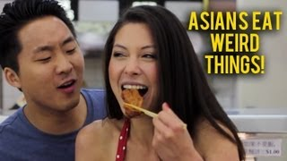 Asians Eat Weird Things ft. AJ Rafael (MUSIC VIDEO) - Fung Brothers | Fung Bros