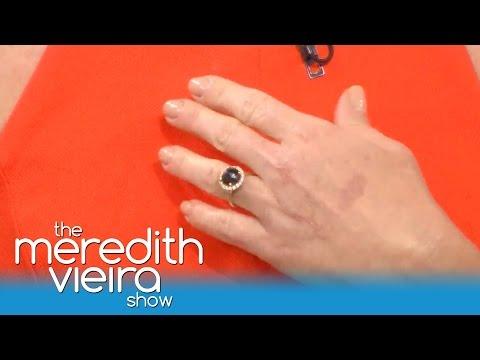 Jennie Garth's Black Diamond Engagement Ring! | The Meredith Vieira Show
