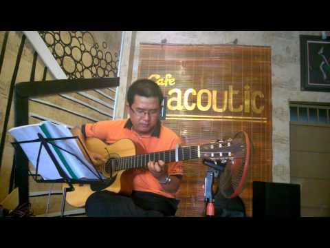 Sầu tím thiệp hồng - Hoài Linh - Guitar Cover