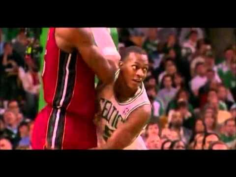 Rondo's Funny Defense on Lebron James