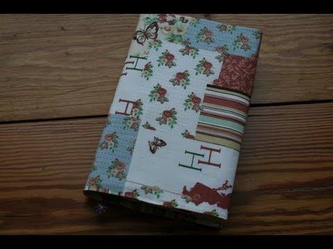 Universalbuchhülle für Taschenbücher (19 cm hoch) nähen