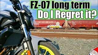 7. FZ-07 Long term Review (MT-07)