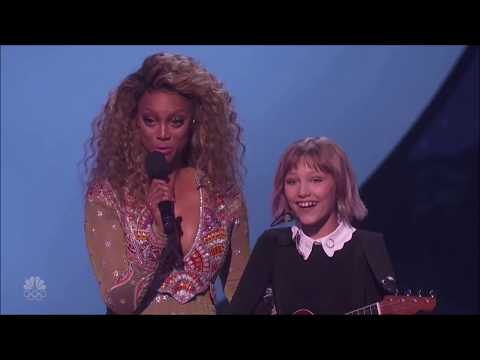 Grace VanderWaal Was Back on The AGT Stage and SHE ROCKED IT! (видео)