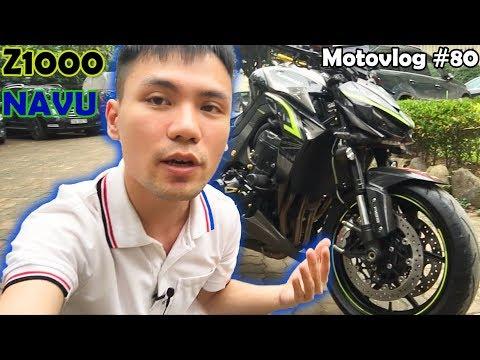 Z1000 mới về của NAVU được độ những đồ chơi gì? Cảm nhận về ngoại hình Z1000 | Motovlog 80 - Thời lượng: 12 phút.