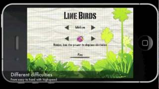 Line Birds YouTube video