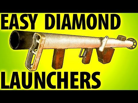 COD WW2 TIPS - LAUNCHER EASY DIAMOND CAMO GUIDE: Bazooka & Panzerschreck