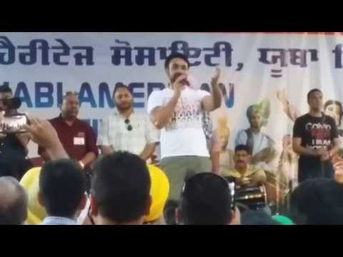 chotta babbu mann - Babbu Mann live medley at the 20th Annual Punjabi American Festival (Yuba City Mela 2014) with Asha Sharma and Jatt Band (Kamal Shahi, Prince Maan, Bittu, Ha...