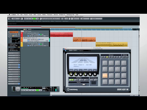 Cubase 7 New Features Video Tutorials – Chapter 14 – Let there be groove