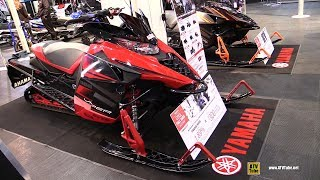 7. 2017 Yamaha SR Viper L-TX SE Sled - Walkaround - 2016 Toronto ATV Show