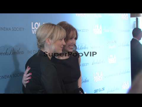 Abby Elliott and Vanessa Bayer at 'Lola Versus' New York ...