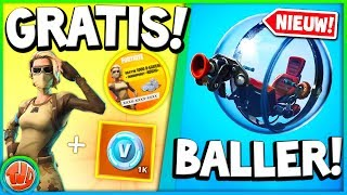 *GRATIS* Skin & 1000 V-bucks!! *NIEUW* 'The Baller' Vehicle!!