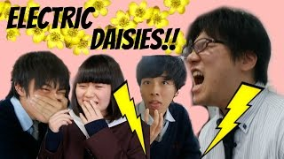 JAPANESE PEOPLE TRY BUZZ BUTTONS!! | Euodias