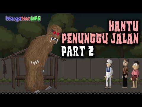 Download Hantu Penunggu Jalan - Part 2 | Animasi Horor Kartun Lucu | Warganet Life HD Mp4 3GP Video and MP3