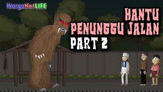 Video Hantu Penunggu Jalan (Part 2) | Animasi Horor Kartun Lucu | Warganet Life MP3, 3GP, MP4, WEBM, AVI, FLV Juni 2019