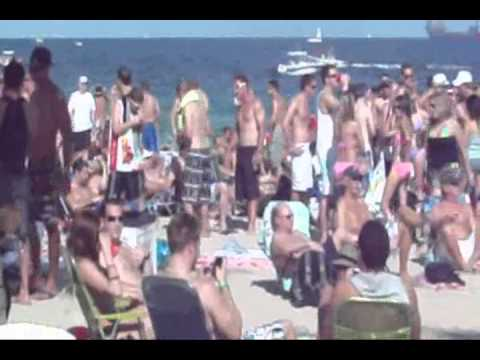 Fort Lauderdale spring break beach bender 2011 -