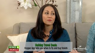 Holiday Travel Tips on Hallmark Home & Family