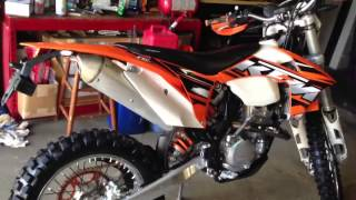 8. 2013 KTM 350 exc-f review