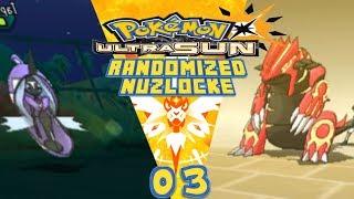SHE HAS A PRIMAL GROUDON  - Pokémon Ultra Sun Randomizer Nuzlocke lets play w/ UzzyYTGamer Ep 3