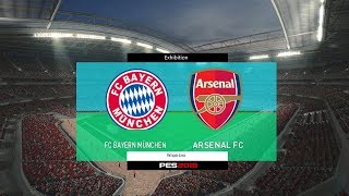 Bayern Munchen vs Arsenal International Champions Cup 2017 Gameplay Simulated #PES2017 #2017ICCSubscribe : https://goo.gl/hOkuyhTwitter : https://twitter.com/LionelPesG+ : https://goo.gl/Bz7FAmPatch : SS Patch Scoreboard : PES 2018 by aziz17 https://goo.gl/d9qAGGAdboard : PES 2018 by Abid Nabawi https://goo.gl/okOQzOKits : Kits Pack 2017/18 HD V3 by Geo_Craig90  https://goo.gl/QUEd8vPES 2017 Fantasy Gameplay/Penalty Shootout : https://goo.gl/gPYg18PES 2017 All Star Gameplay/Penalty Shootout : https://goo.gl/PKXzD8