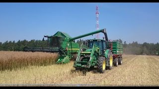 Video Johndeere W540 , 6630....  Akcja Rzepak 2015 MP3, 3GP, MP4, WEBM, AVI, FLV November 2017
