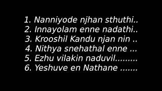 Video Malayalam Christian Worship songs with lyrics MP3, 3GP, MP4, WEBM, AVI, FLV April 2019