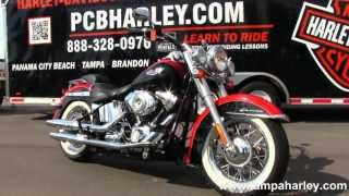 7. Used 2010 Harley Davidson FLSTN Softail Deluxe motorcycle for sale